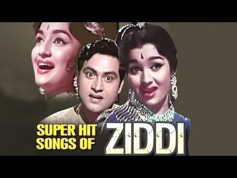 Ziddi (1964 film) Ziddi Hindi Movie All Songs Collection Joy Mukherjee Asha