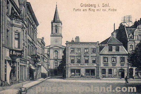 Zielona Gora in the past, History of Zielona Gora