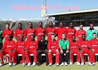 Zimbabwe national cricket team 15Men Zimbabwean Squad World T20 2016 Zimbabwe Team Squad ICC T20
