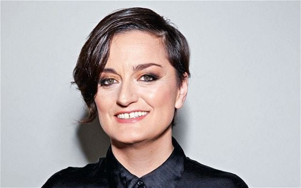 Zoe Lyons My Day on a Plate Zoe Lyons comedian Telegraph