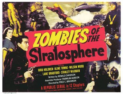 Zombies of the Stratosphere 13 ZOMBIES OF THE STRATOSPHERE In Color Republic Pictures 1952