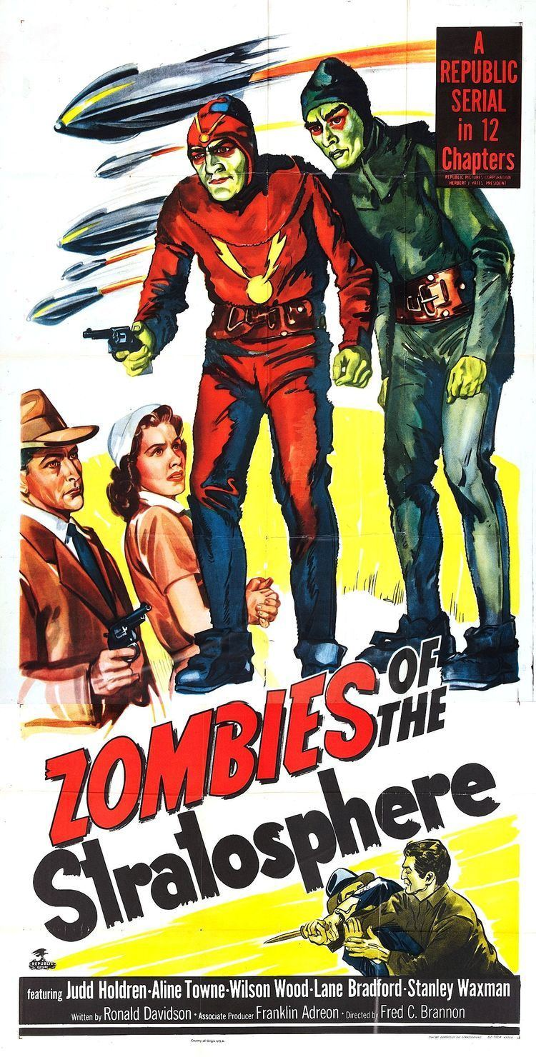 Zombies of the Stratosphere Poster for Zombies of the Stratosphere 1952 USA Wrong Side of