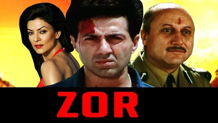 Zor (film) Zor 1998 Full Hindi Movie Sunny Deol Sushmita Sen Milind