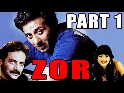 Zor (film) Zor Sunny Deol Sushmita Sen Hindi Bollywood Movie Part 1 YouTube
