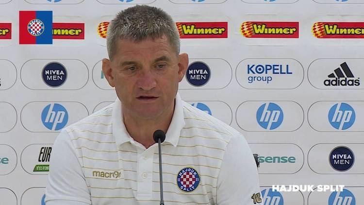 Zoran Nižić Trener Punik i Zoran Nii uoi utakmice Maccabi TelAviv Hajduk