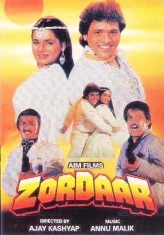 Zordaar Zordaar Movie on Star Gold Zordaar Movie Schedule Songs and