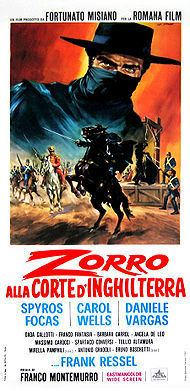 Zorro in the Court of England movie poster
