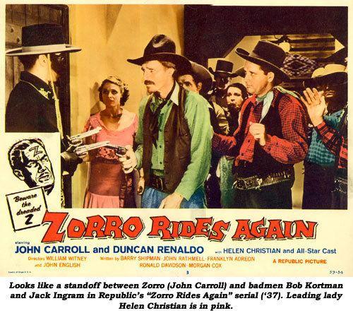 Zorro Rides Again Western von Gestern Westerns of Yesteryear Zorro Rides Again