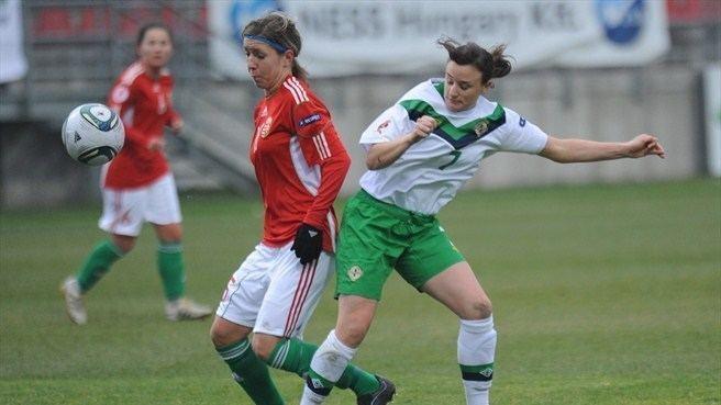 Zsófia Rácz Zsfia Rcz Hungary Jessica Stephens Northern Ireland UEFA
