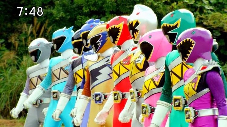 Zyuden Sentai Kyoryuger Zyuden Sentai Kyoryuger All Rangers and Mecha 2013 2014