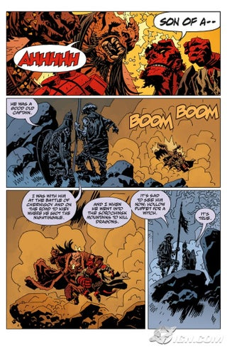 Hellboy: Darkness Calls Hellboy Darkness Calls Comics IGN