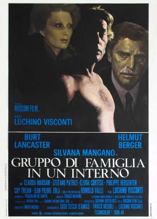 Conversation Piece (film) Conversation Piece 1974 Italy DCoSc Luchino Visconti Burt