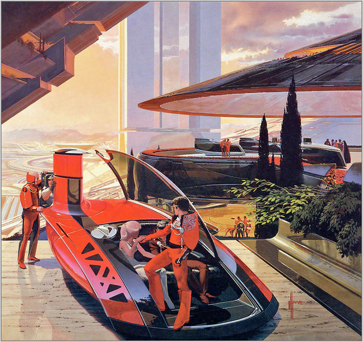 Syd Mead The mind blowing artwork of Syd Mead Knowledge Glue