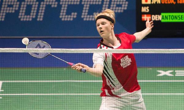 Anders Antonsen BadmintonPeoplecom Anders Antonsen continues great run of form