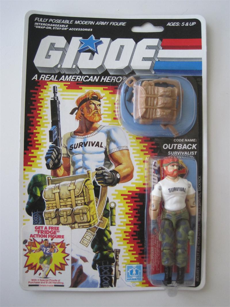 Outback (G.I. Joe) GI Joe 1987 Outback Carded