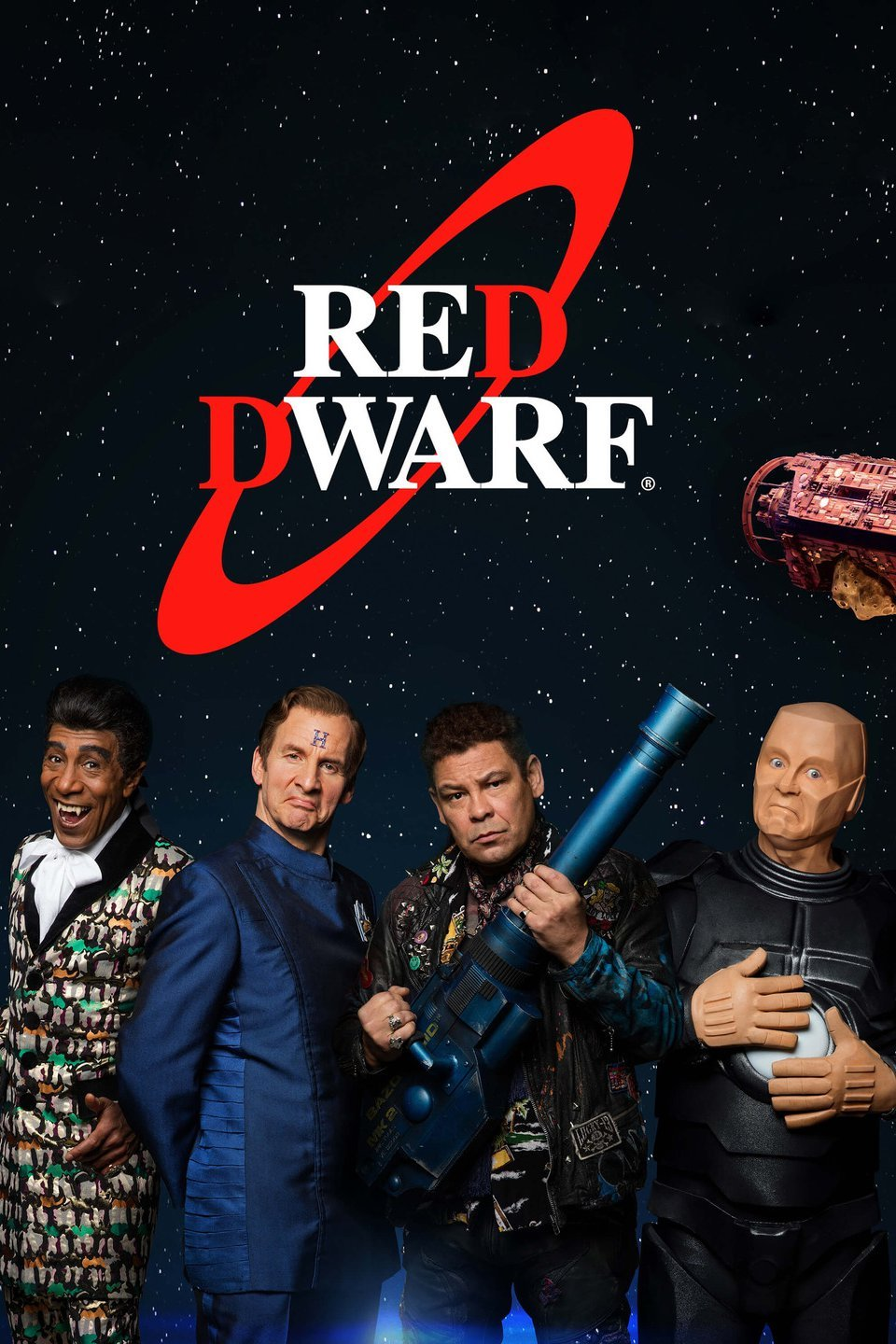 BBC, Comedy, Sci-Fi /'Vindaloovian Heroes/' T-Shirt Inspired by Red Dwarf